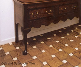 Oak and Sycamore Tiles