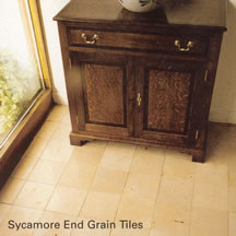 Sycamore End Grain Tiles